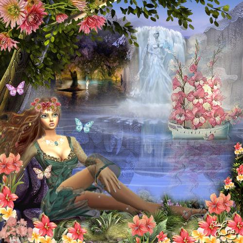 Déesse du Printemps ou Reine des enfers Persephone-ou-core